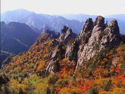 korea - sorak mountain